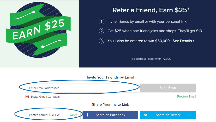 refer a friend and earn with ebates in sinhala by supiriwasi 2