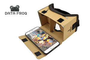 DATA FROG VR Box Headset for Android ios Smartphone review in Sri Lanka by Supiriwasi