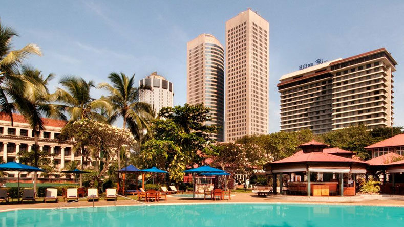 Hilton Luxury Hotel in Colombo Sri Lanka